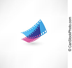 film, ikon, bølge