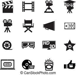 film, ikone