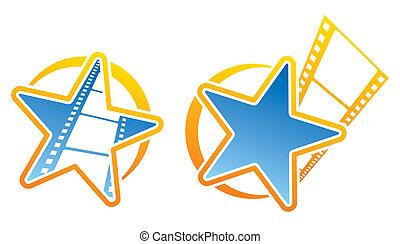 film, ikony