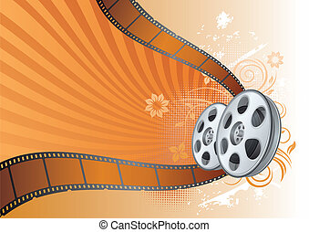 film, illustratie, thema