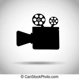 film industry design, vector illustration eps10 graphic