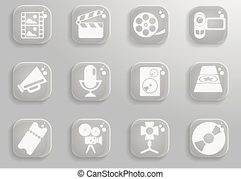 Film Industry simply symbols for web and user interface