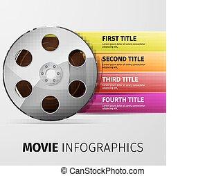 film, infographics