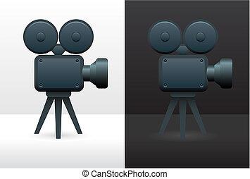 film, kamera