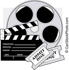 film, karten