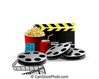film, maïs, pop