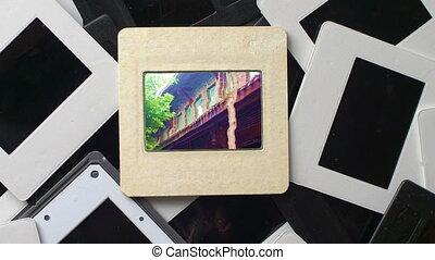 Film Memories On Vintage Slide Film