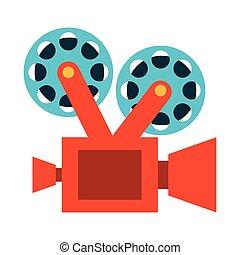 film movie camera icon