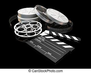 film, nuit