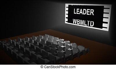 film, ożywienie, teatr