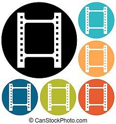 film, pictogram