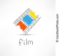 film, pictogram