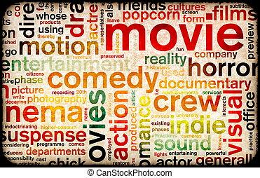 film, plakat