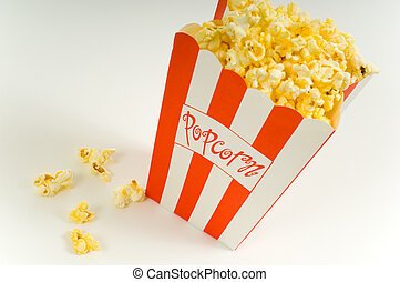 film, pop-corn