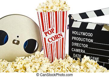 film, popcorn, brett, schwengel