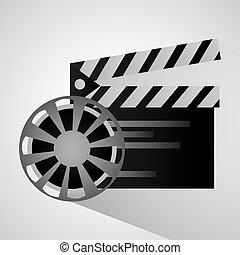 Film reel and movie design