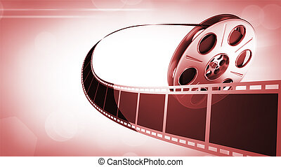 Film Reel Background - Abstract Background. Great for cinema...