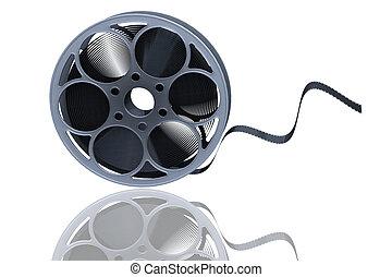 Film reel - 3D render of a film reel
