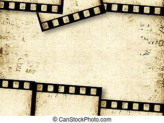 Film reel -  Closeup of old 35 mm movie Film reel