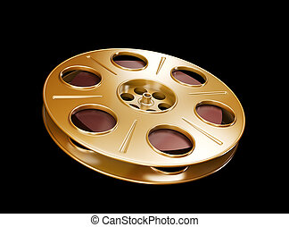 Film Reel - Great for cinema concept.