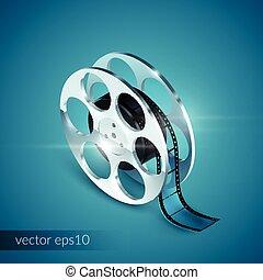 Film Reel Realistic