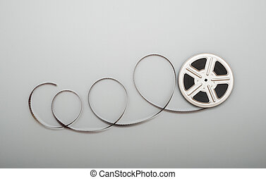 Film reel - Motion picture film reel.