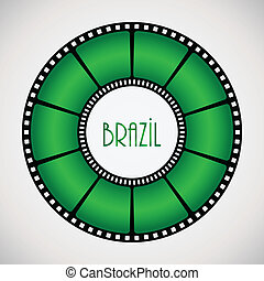 film reel with special design
