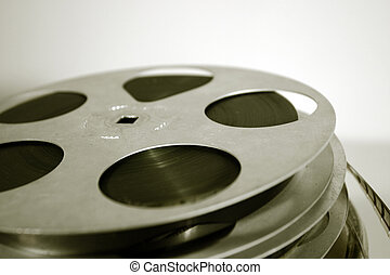 Film reels - 16mm celluloid movie reels