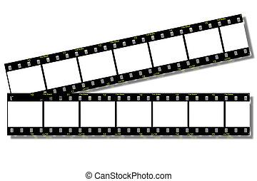 film, remsor, (clip, path)