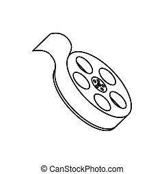 film, rotolo, apparecchiatura