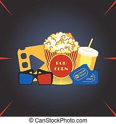 film, salle, cinéma