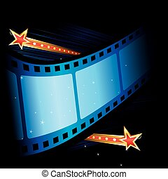 film, storslagen, premiär