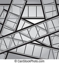 film, strepen