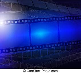 film strimmel, abstrakt, baggrund