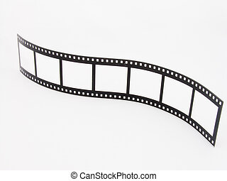 A novelty photoframe in the shape of a film strip