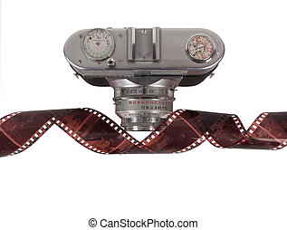 Film strip and camera