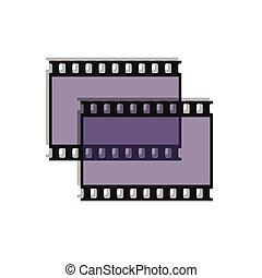 Film strip as icon