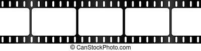 Film Strip Background Border