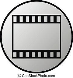 Film strip button