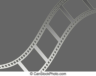 Film strip - Filmstrip background illustration