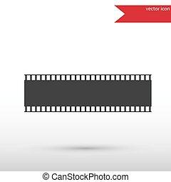 Film strip icon.