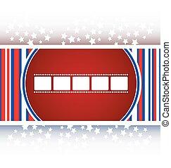 film strip icon glossy button