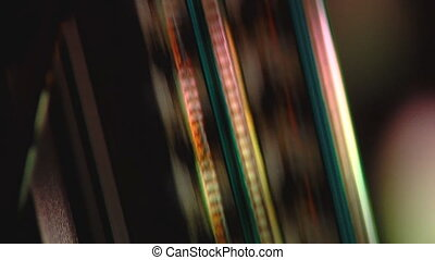 Film strip moving