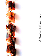Film strip - the filmstrip isolated on white background...