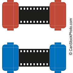 Film Strip, Vector illustration eps10
