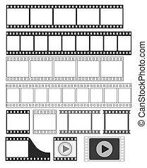 film strip - vector illustration