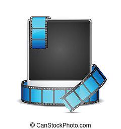 Film Stripe around Photo