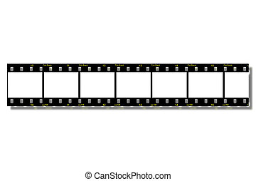Film Strips (Clip Path) - Film Strips - With Clipping Path