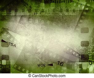 Film strips - Film negative frames, film strips border