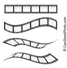 film, stroken